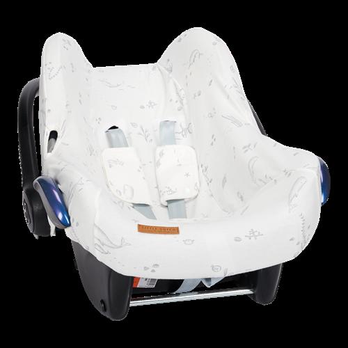 Housse de protection pour siège-auto 0+ Ocean White