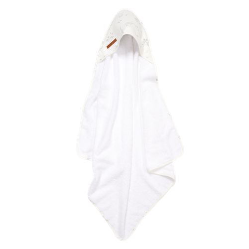 Picture of Hooded towel Ocean White