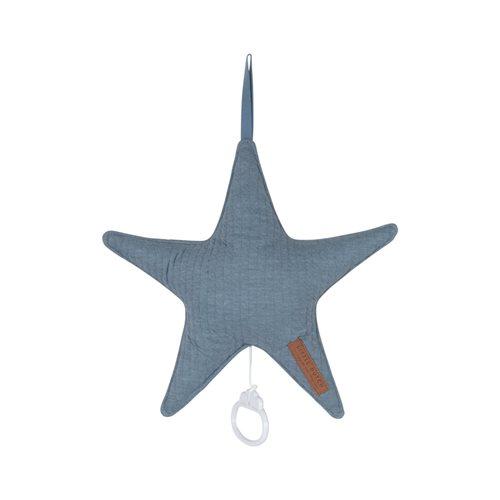 Coussin musical étoile Pure Blue
