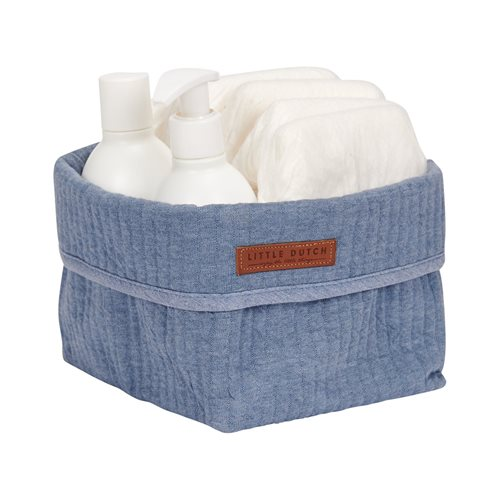 Picture of Storage basket, small Pure Blue