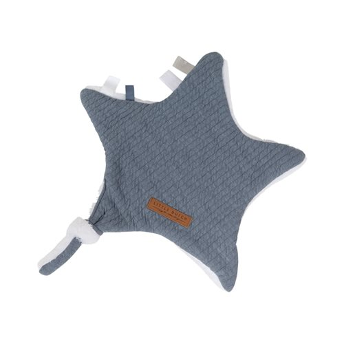 Picture of Cuddle cloth, star Pure Blue