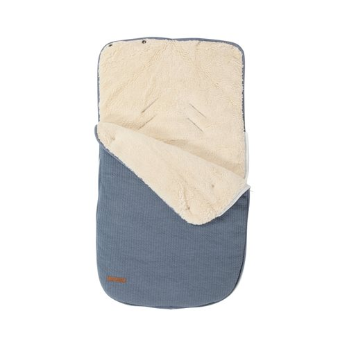 Picture of Car seat 0+ footmuff Pure Blue