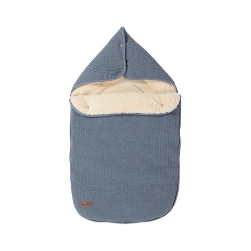 Babyschalen-Fußsack 0+ Pure Blue