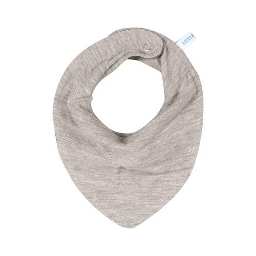 Bavoir bandana Pure Grey
