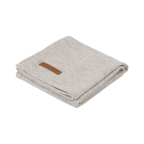 Musselintuch Swaddle 120 x 120 Pure Grey
