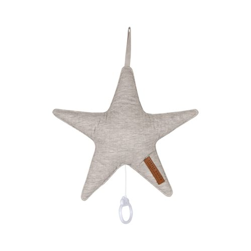 Picture of Star-shaped music box Pure Grey