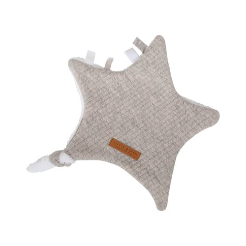 Picture of Cuddle cloth, star Pure Grey