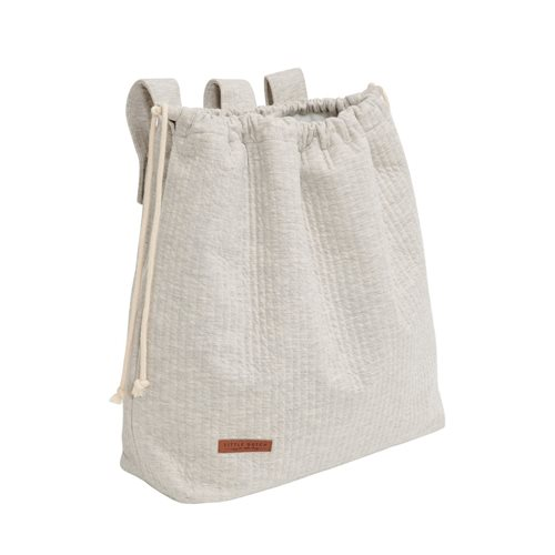 Picture of Playpen toy bag Pure Grey