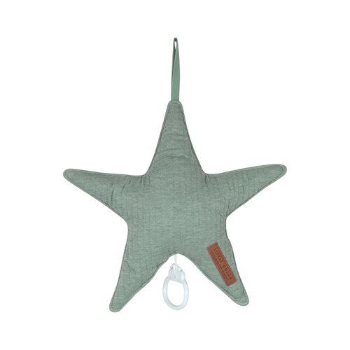 Coussin musical étoile Pure Mint