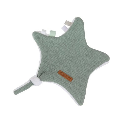 Picture of Cuddle cloth, star Pure Mint
