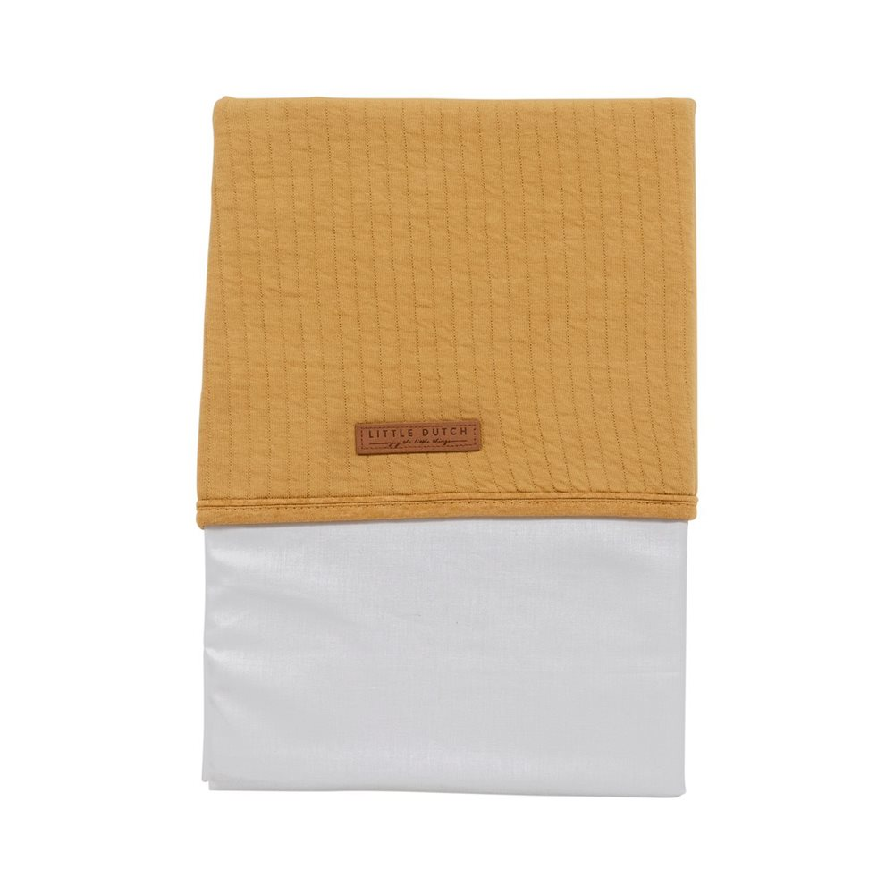 Picture of Cot sheet Pure Ochre