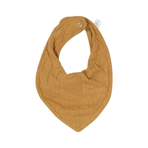 Picture of Bandana bib Pure Ochre