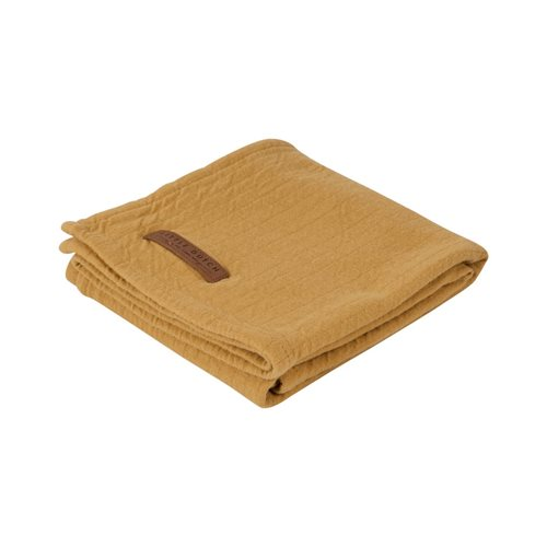 Picture of Swaddle 120 x 120 Pure Ochre
