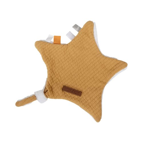 Picture of Cuddle cloth, star Pure Ochre