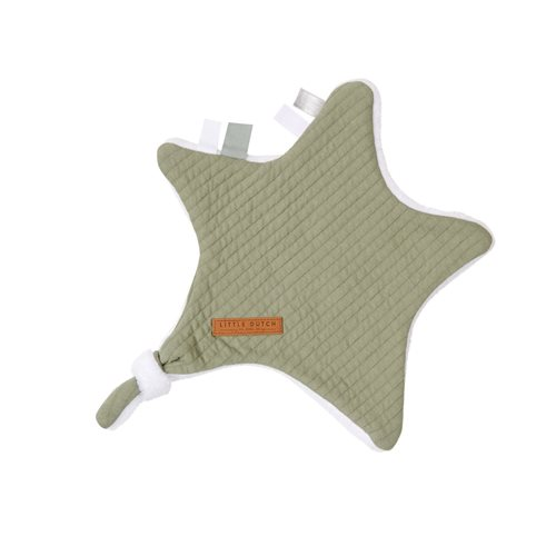 Picture of Cuddle cloth, star Pure Olive