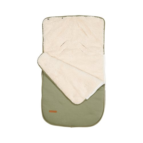 Picture of Car seat 0+ footmuff Pure Olive