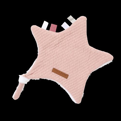 Kuscheltuch Stern Pure Pink