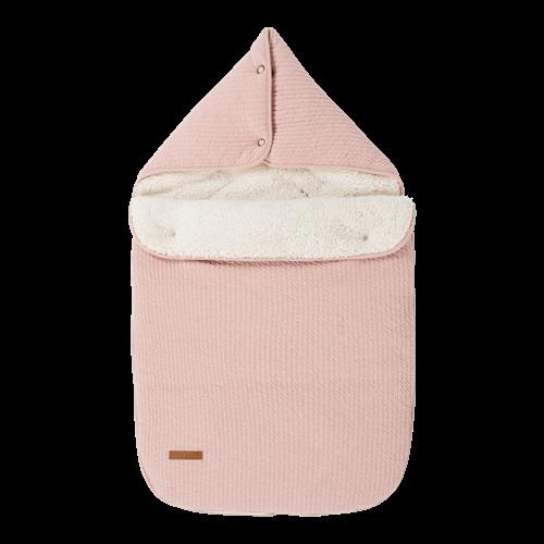 Babyschalen-Fußsack 0+ Pure Pink