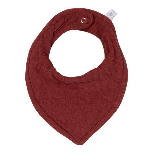 Picture of Bandana bib Pure Indian Red