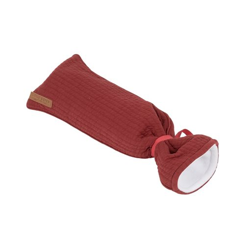Picture of Hot-water bottle cover Pure Indian Red