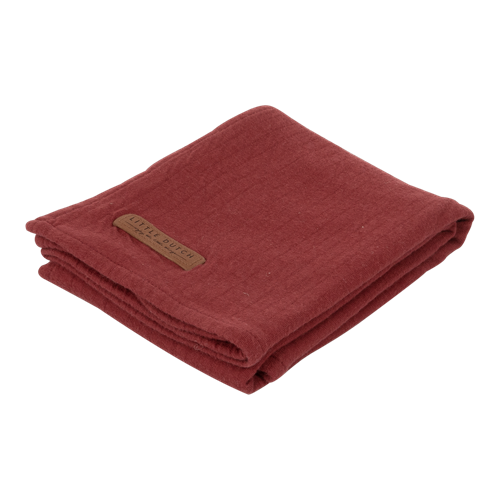 Picture of Swaddle 120 x 120 Pure Indian Red