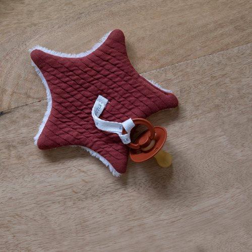 Afbeelding van Speendoekje Pure Indian Red