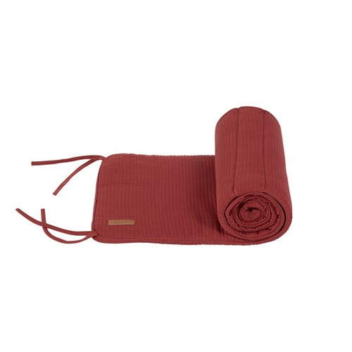 Picture of Cot bumper Pure Indian Red