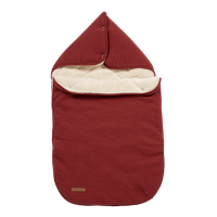 Picture of Car seat 0+ footmuff Pure Indian Red