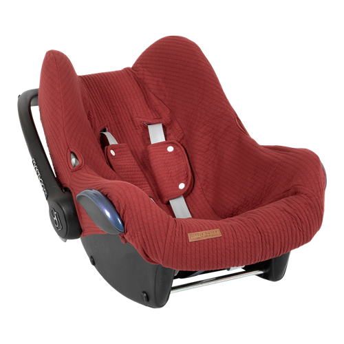 Picture of Car seat 0+ cover Pure Indian Red