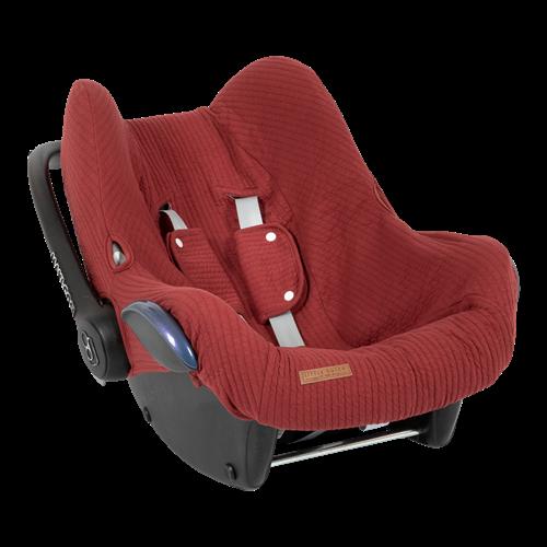 Housse de protection pour siège-auto 0+ Pure Indian Red