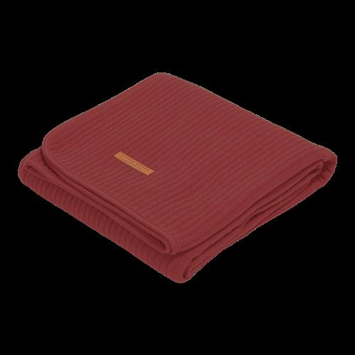 Afbeelding van Zomerdeken wieg Pure Indian Red
