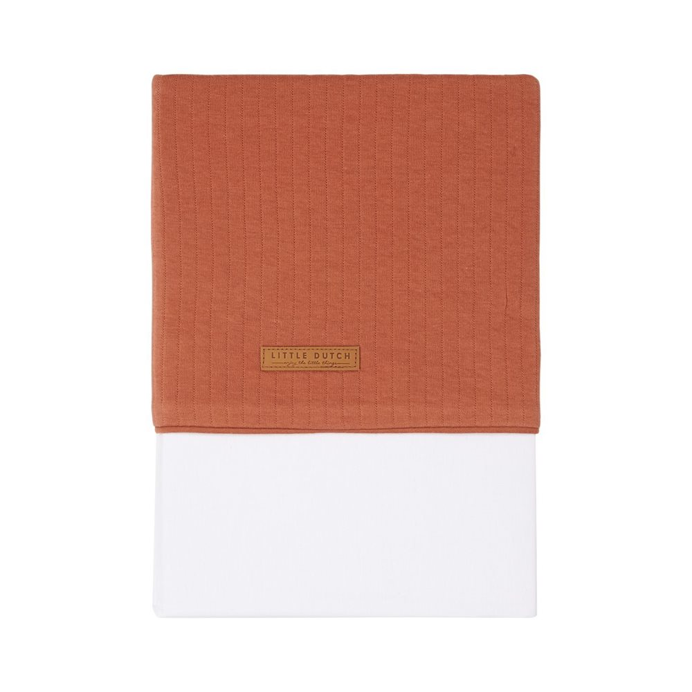 Picture of Cot sheet Pure Rust