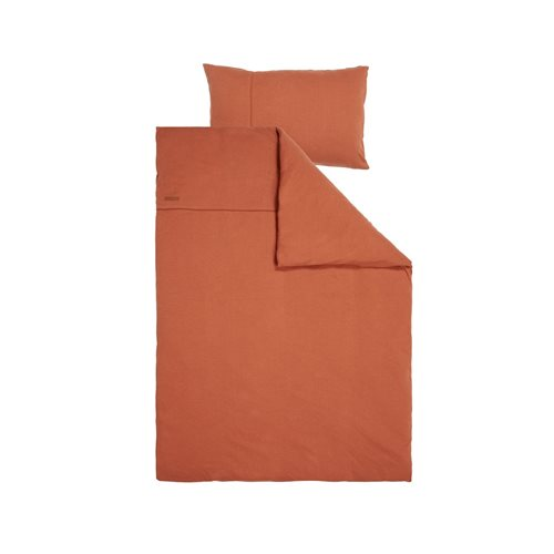 Picture of Cot duvet cover Pure Rust