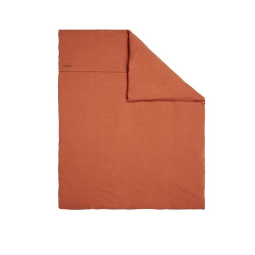 Picture of Bassinet blanket cover 80x80 Pure Rust