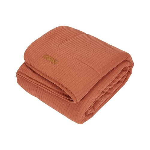 Picture of Cot blanket Pure & soft Pure Rust