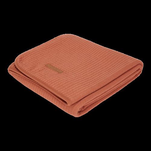Sommerdecke Kinderbett Pure Rust
