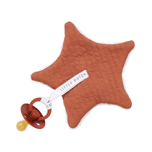 Doudou attache-sucette Pure Rust