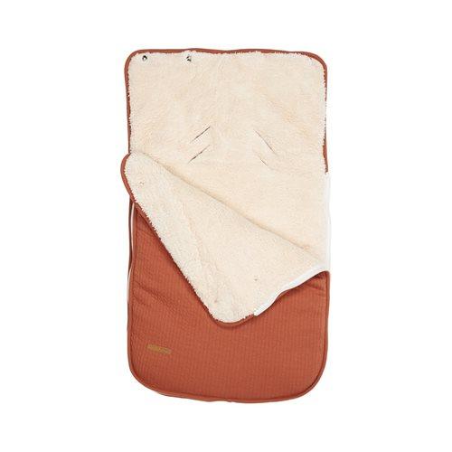 Babyschalen-Fußsack 0+ Pure Rust