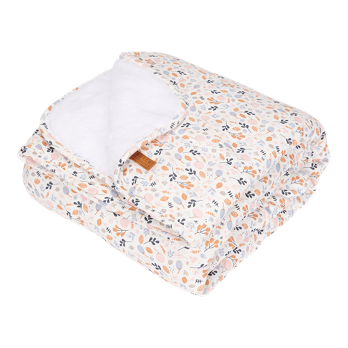 Picture of Cot blanket Pure & soft Spring Flowers