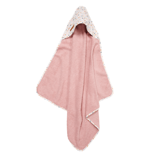Picture of Hooded towel Spring Flowers
