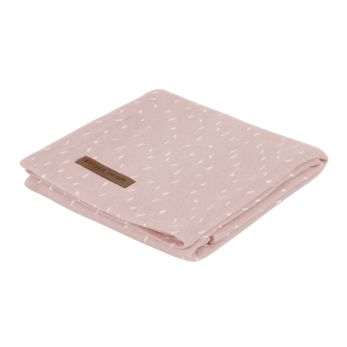 Musselintuch Swaddle 120 x 120 Pink Sprinkles