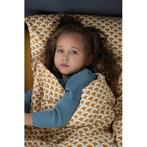 Picture of Cot blanket cover Sunrise Ochre