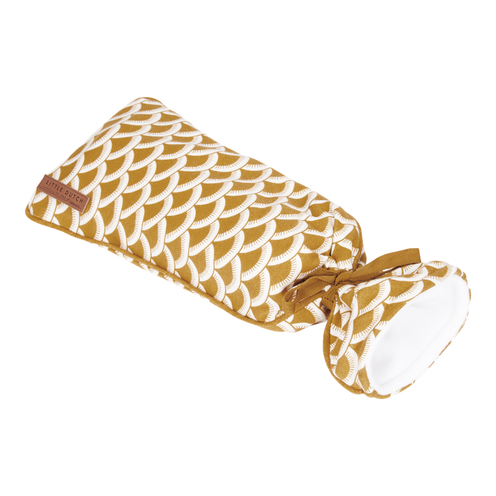 Picture of Hot-water bottle cover Sunrise Ochre