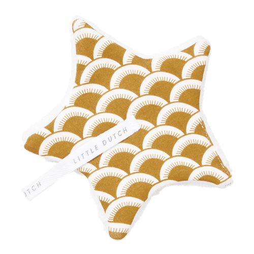 Picture of Pacifier cloth Sunrise Ochre