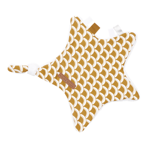 Picture of Cuddle cloth, star Sunrise Ochre