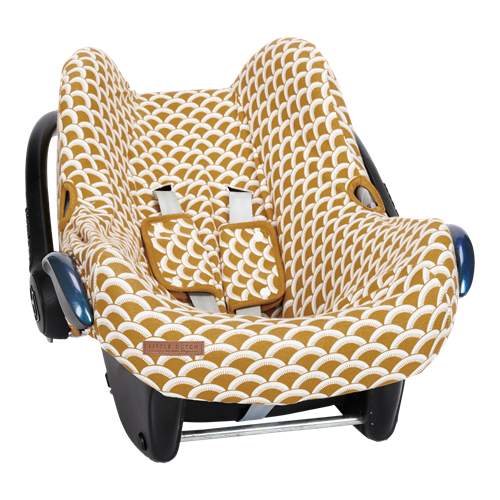 Picture of Car seat 0+ cover Sunrise Ochre