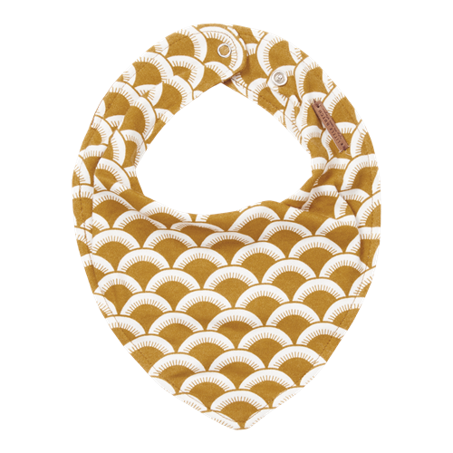 Picture of Bandana bib Sunrise Ochre