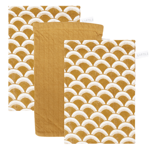 Picture of Washcloths set Sunrise Ochre