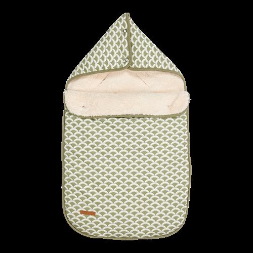 Babyschalen-Fußsack 0+ Sunrise Olive
