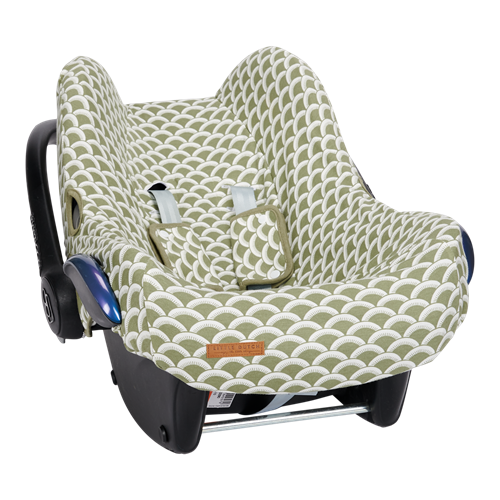 Picture of Car seat 0+ cover Sunrise Olive